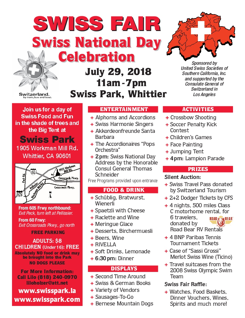 2018 Swiss Fair Flyer 816x1056