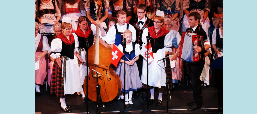 Rohrer Family from Switzerland